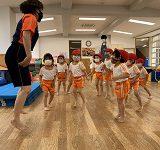 2021年度 第8回幼稚園だより「年少体操教室」